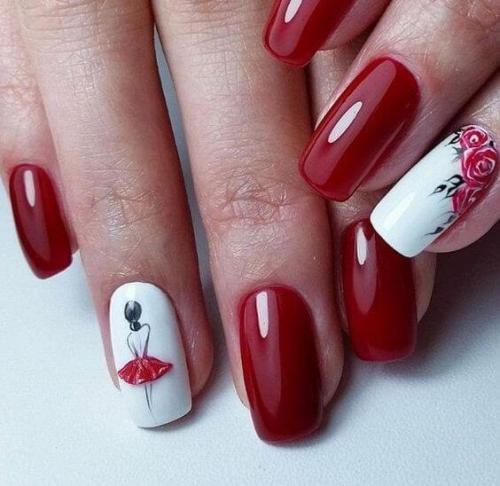 О чем говорит красный цвет на ногтях. Цвет лака в маникюре и характере: развернутое значение оттенков