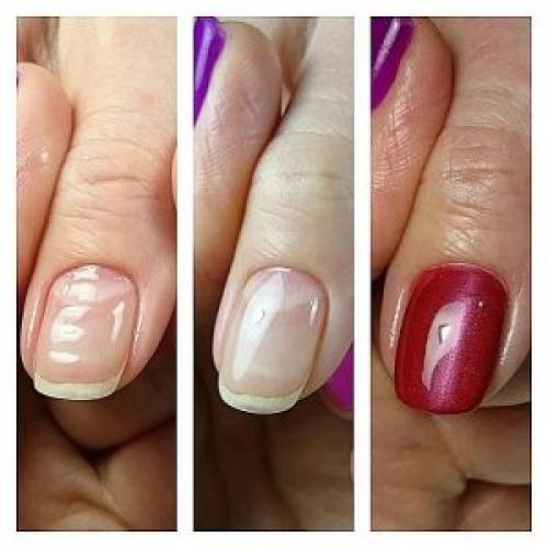 Выравнивание ногтевой пластины базой. Разновидности выравнивания гель лаком