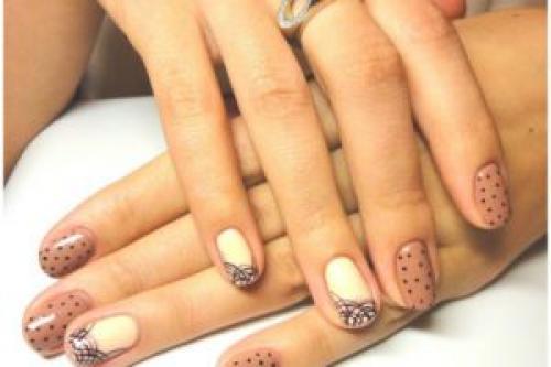Рисунок шеллаком на ногтях в домашних условиях. Чем можно рисовать на шеллаке, какие способы рисования существуют