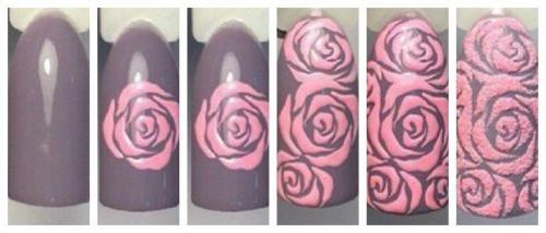 Красивые узоры на ногтях. Рисунки на ногтях в домашних условиях