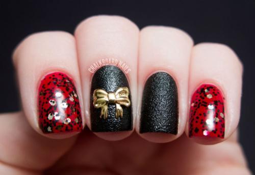 Дизайн ногтей с бантиками. Особенности дизайна с бантиками