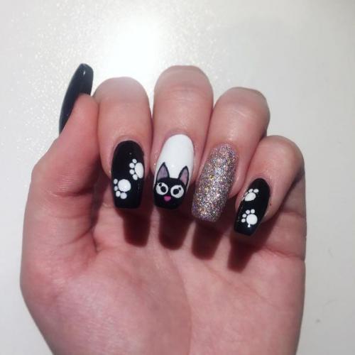 Животные на ногтях пошагово. Маникюр с рисунками животных и анималистичными принтами