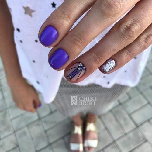 Маникюр лето 2019 на короткие ногти. ТОП-5 идей летнего маникюра на короткие ногти 2019