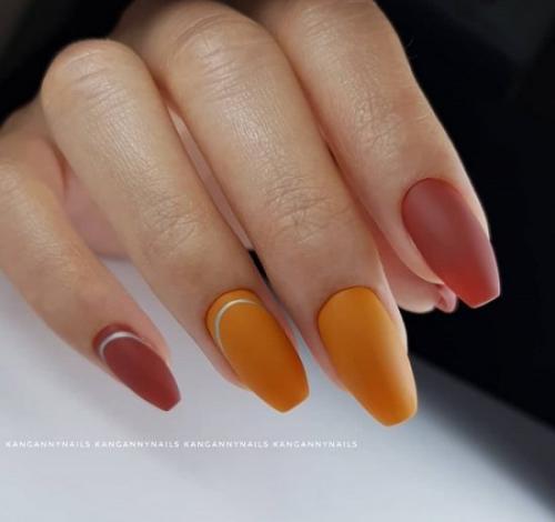 Однотонные ногти 2019. Модный цвет маникюра 2019-2020 – яркое сочетание или монохром