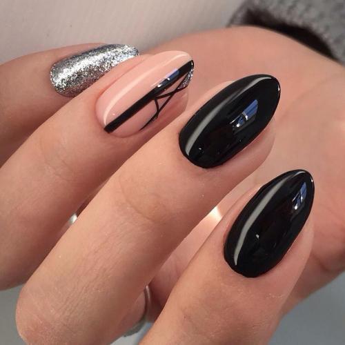 Дизайн на овальные ногти. Дизайн маникюра на овальные ногти