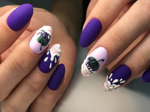 Маникюр на овальные длинные ногти. Интригующий маникюр на овальные ногти 2019-2020: тенденции