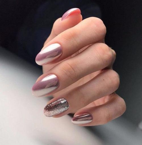 Дизайн ногтей 2019 свадебный. Тенденции свадебного маникюра 2019