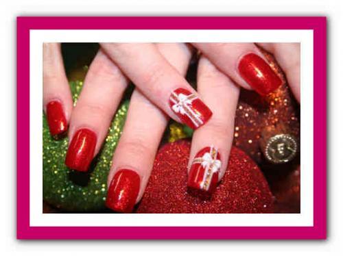 Маникюр красный и белый. Красные ногти: сочетание цветов 08