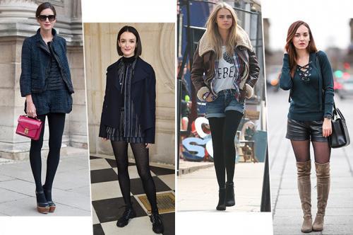 Лук с шортами. С чем носить шорты осенью-2019: 8 модных образов