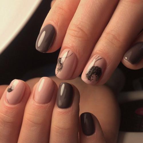 Маникюр на короткие круглые ногти 2019. Маникюр на короткие ногти: модные тенденции 2019