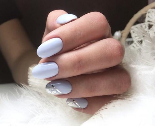 Маникюр на овальные короткие ногти. Особенности маникюра на овальные ногти