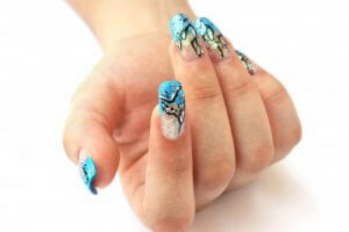 Рисунки на ногтях иголкой схемы. Иголка для маникюра?