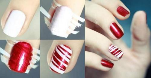 Узоры на ногтях для начинающих иголкой. Чем рисуют узоры на ногтях?
