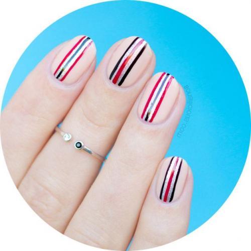 Рисунки на ногтях в домашних условиях для начинающих. Рисунки на ногтях для начинающих: идеи оформления ногтей