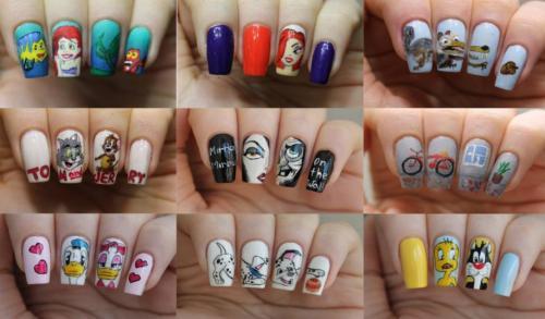 Как на ногтях нарисовать цветок пошагово. Простые росписи на ногтях акриловыми красками