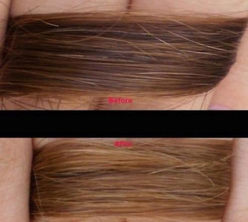 Смывка для волос домашними средствами. Самые эффективные