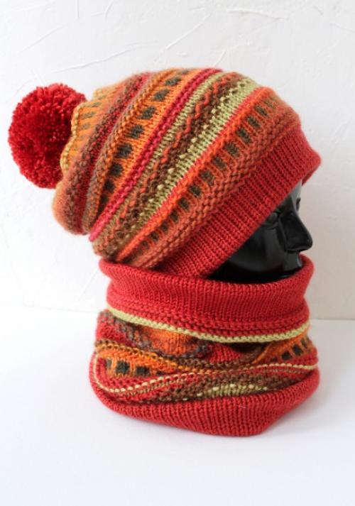 Схемы вязания хомута шарфа спицами. Как связать шарф – хомут спицами, идеи из интернет