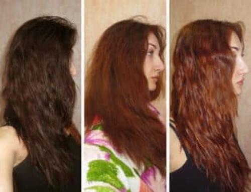 Как снять краску с волос. Как смыть черную краску
