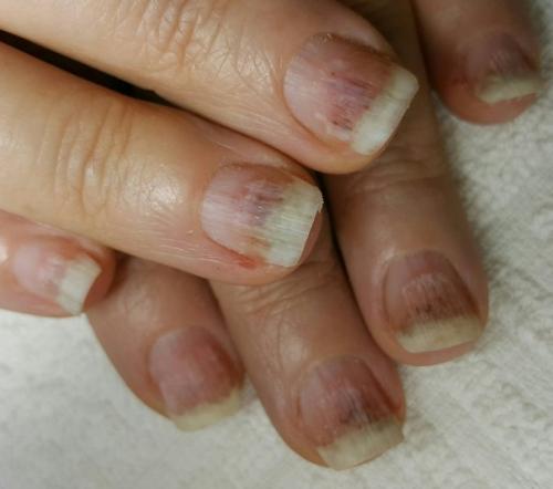 Матовые Бежевые Ногти С Рисунком