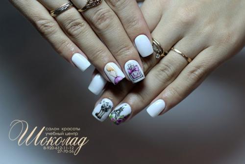 Екатерина мирошниченко дизайн на коротких ногтях фото