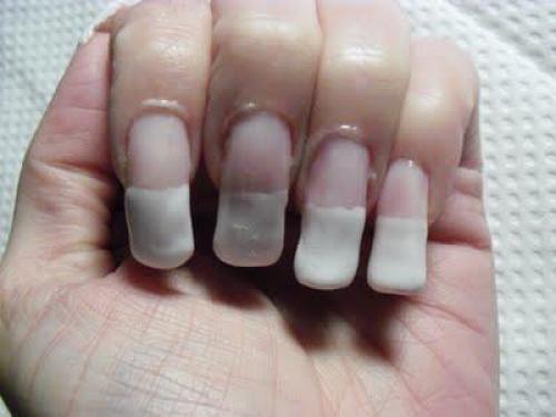 Фото нарощенных ногтей маникюр