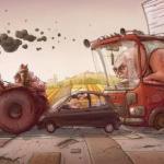 Топ - 5 самых опасных персонажей на дорогах.