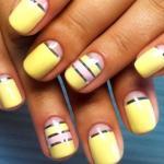 Модный лимонный маникюр: особенности цвета, стильные идеи дизайна ногтей.