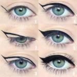 """""""Идеальные Стрелки"""".  С помощью этой техники, вы нарисуете идеально ровные и симметричные стрелки на обоих глазах?"""