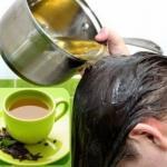 Чай для волос.