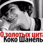 20 золотых цитат Коко шанель: