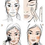 Похудеть с помощью макияжа.
