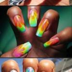 Водный маникюр.   Оригинальный дизайн ногтей сегодня неотъемлемая часть образа стильной и современной девушки.