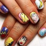 Поп-арт на ногтях?